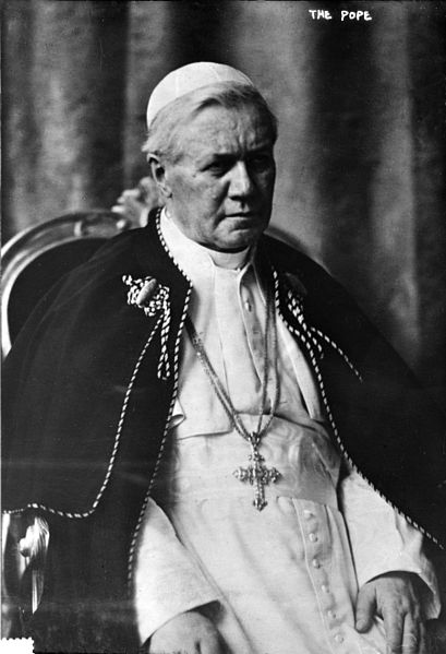 "4 August 1903 – 20 August 1914: ""Encouraged and expanded reception of Holy Communion, and combatted Modernistic theology. Most recent pope to be canonized."""