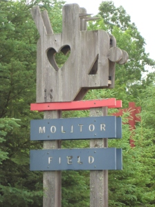 Molitor Field Sign
